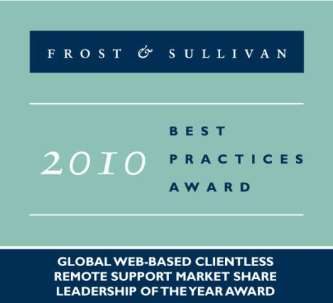 Frost & Sullivan 2010 Best Practices Award