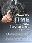 Mike Hanson offers powerful guidelines for  comparing help desk solutions.